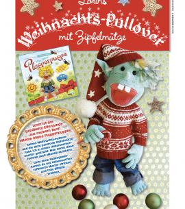BLUMENBUNT Lorins Weihnachts-Pullover Titelseite