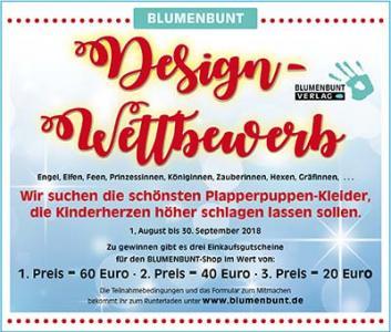 BLUMENBUNT Design-Wettbewerb
