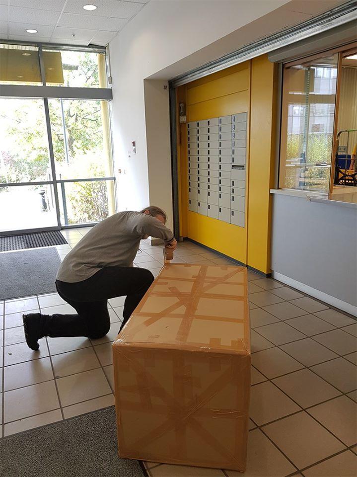 BLUMENBUNT Spendenaktion 2019 – Das 1. Paket ist unterwegs