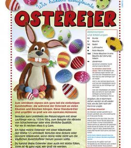 BLUMENBUNT Gratis-Ostereier