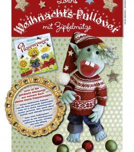BLUMENBUNT Anleitung Weihnachtspullover - Teil 4