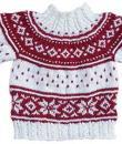 Weihnachtspullover Weiß